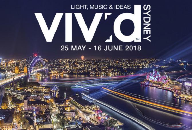 Vivid Sydney Harbour Cruise 2018