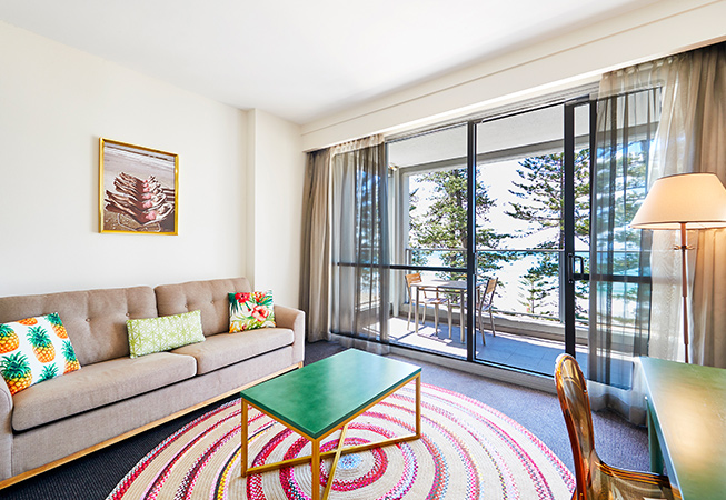 The Sebel Sydney Manly Beach Deluxe Ocen 1 Bedroom