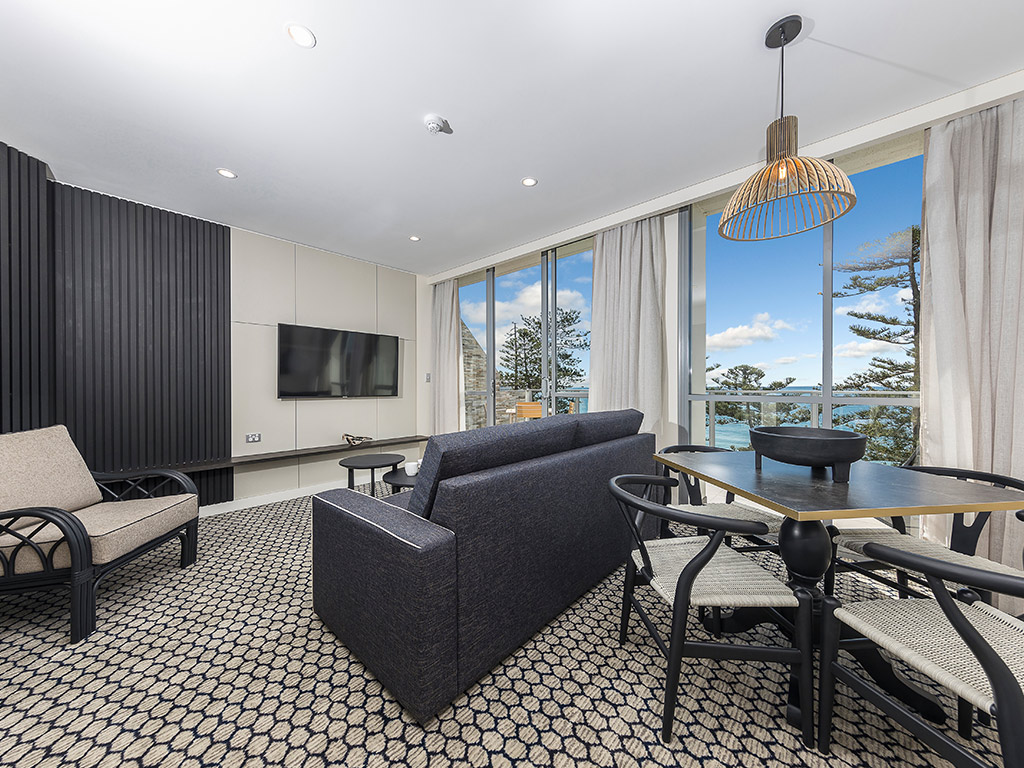The Sebel Sydney Manly Beach - Deluxe Ocean View 1 Bedroom Apartment