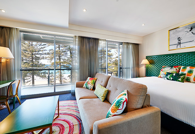 The Sebel Sydney Manly Beach Deluxe Ocean View Studio